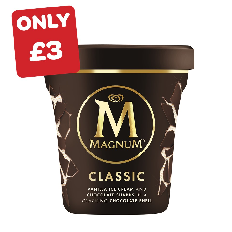 Magnum Classic / White / Double Salted Caramel Pint