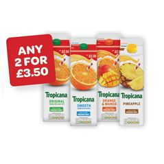 Tropicana Original / Smooth / Orange&Mango  PMP