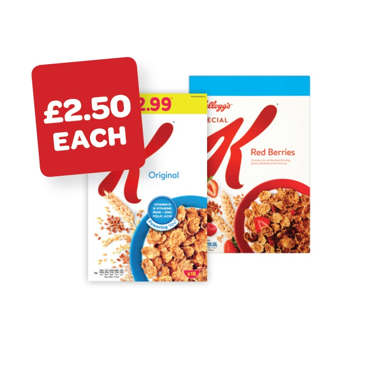Kellogg's Special K / Red Fruit Price Marked Pack
