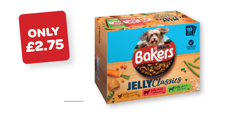 Bakers Jelly Classic Dog Food