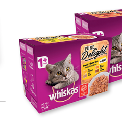 Whiskas Pure Delights Cat Food