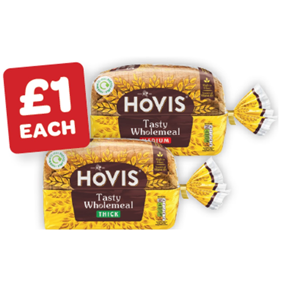 Hovis Wholemeal Medium / Thick