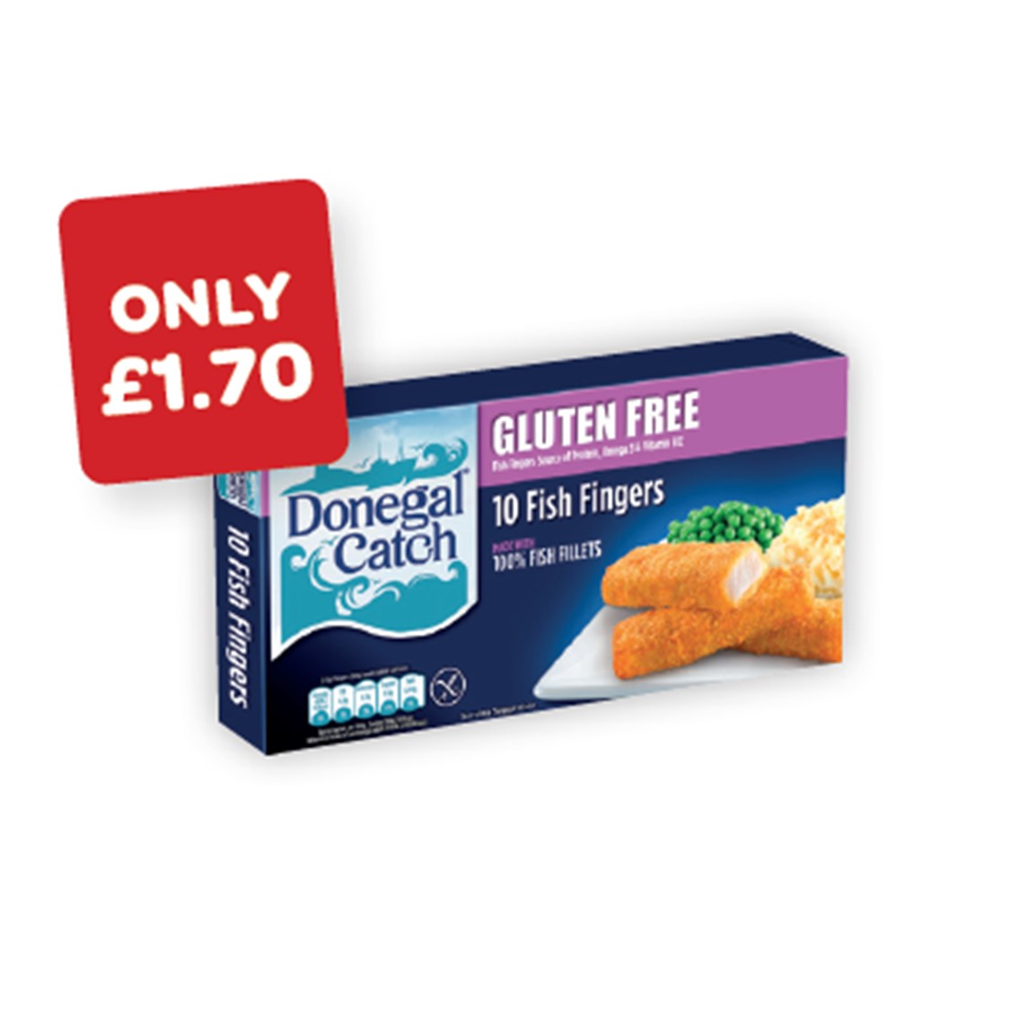 Donegal Catch Gluten Free Fish Fingers