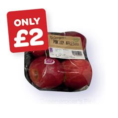 The Greengrocer's Pink Lady Apples