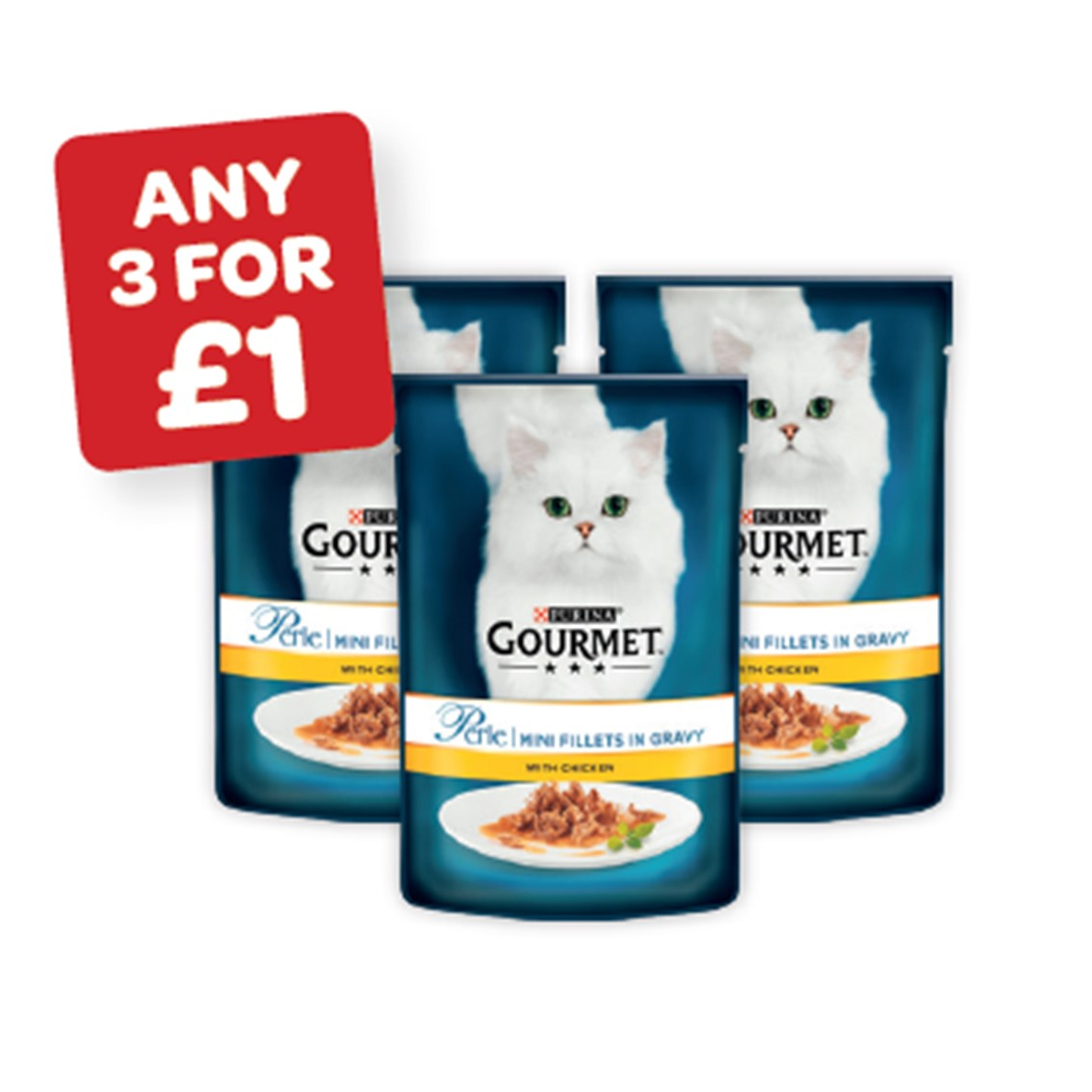 Gourmet Perle Cat Food
