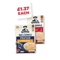 Quaker Oatso Simple / Protein